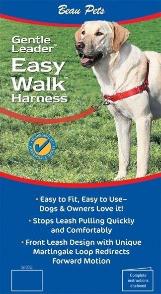 Gentle Leader Easy Walk Harness Black Easy Walk Harness Gentle Leader Pets