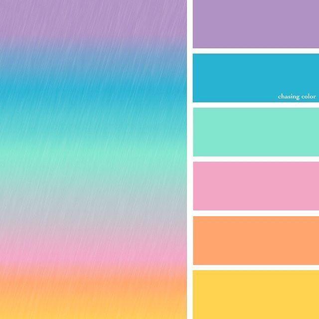 Paleta de colores pinterest
