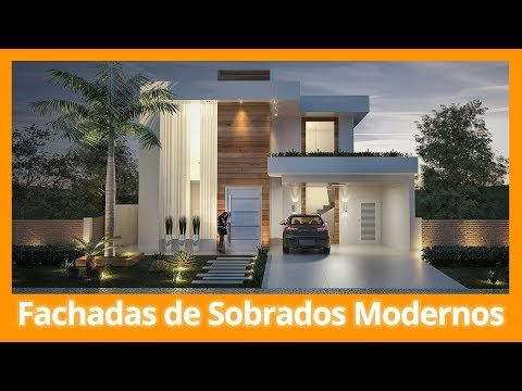 Fachadas de casas t rreas modernas youtube casa1 for Fachadas de casas modernas youtube