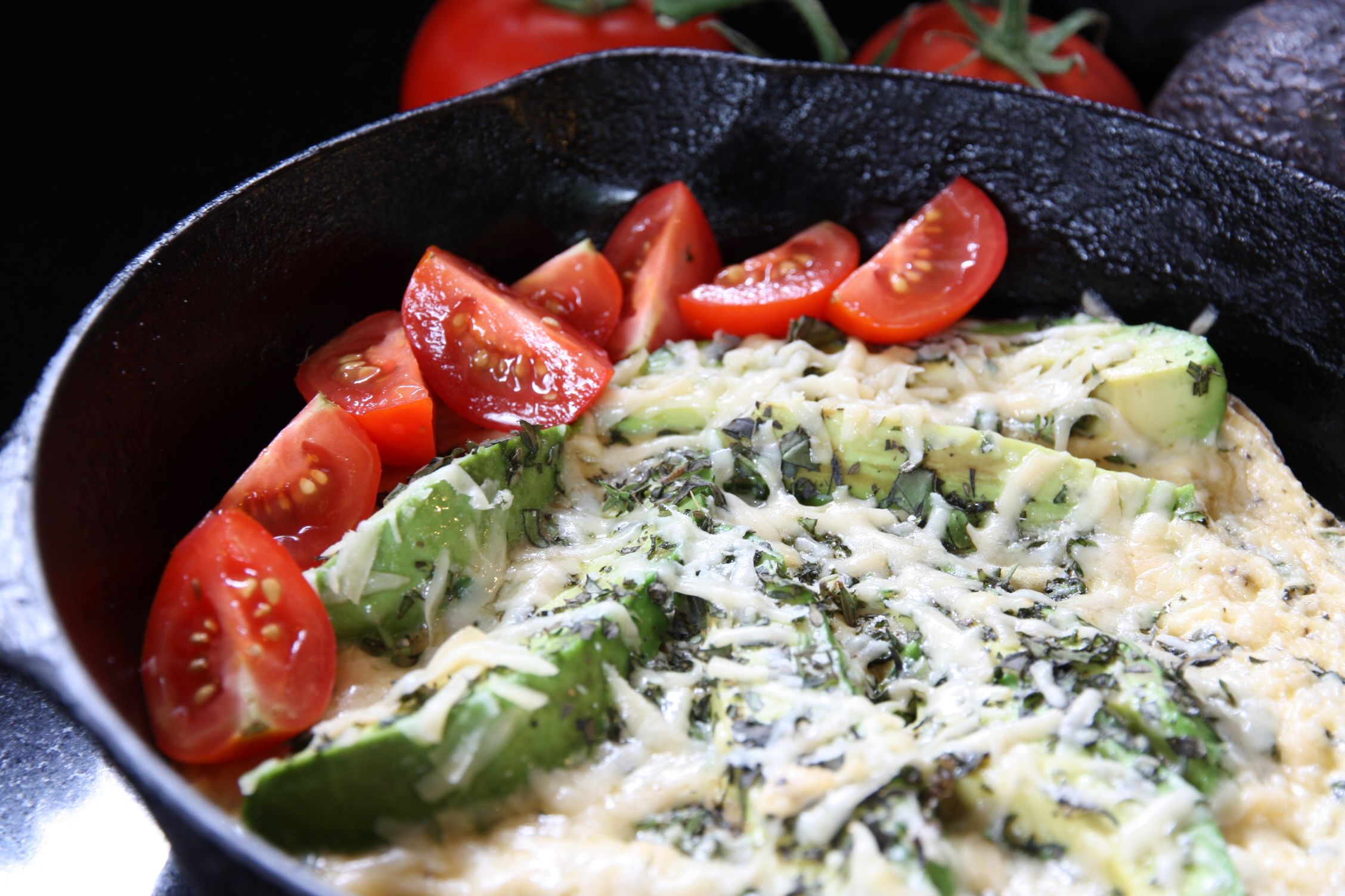 avocado frittata   via 'cooking on page 32'. great recipes on this blog!