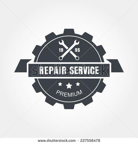 Vintage Mechanic Logo Vintage Style Car Repair Service Label