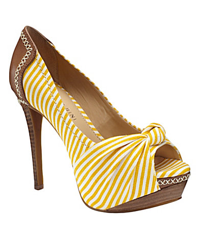 Gianni Bini Ginger Peep-Toe Platform Pumps