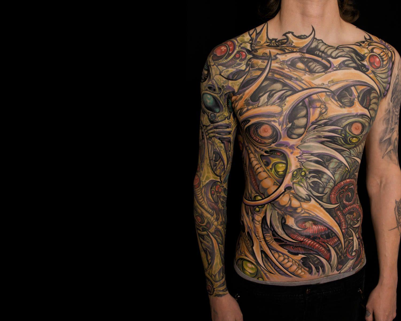 Tattoo gear tattoo sleeve mechanic tattoo mechanical tattoo gears - 10 Expert Biomechanical Tattoo Artists