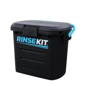 Rinse Kit 2 Gal. Portable Shower in Black RKBLK1PC at The Home Depot - Mobile