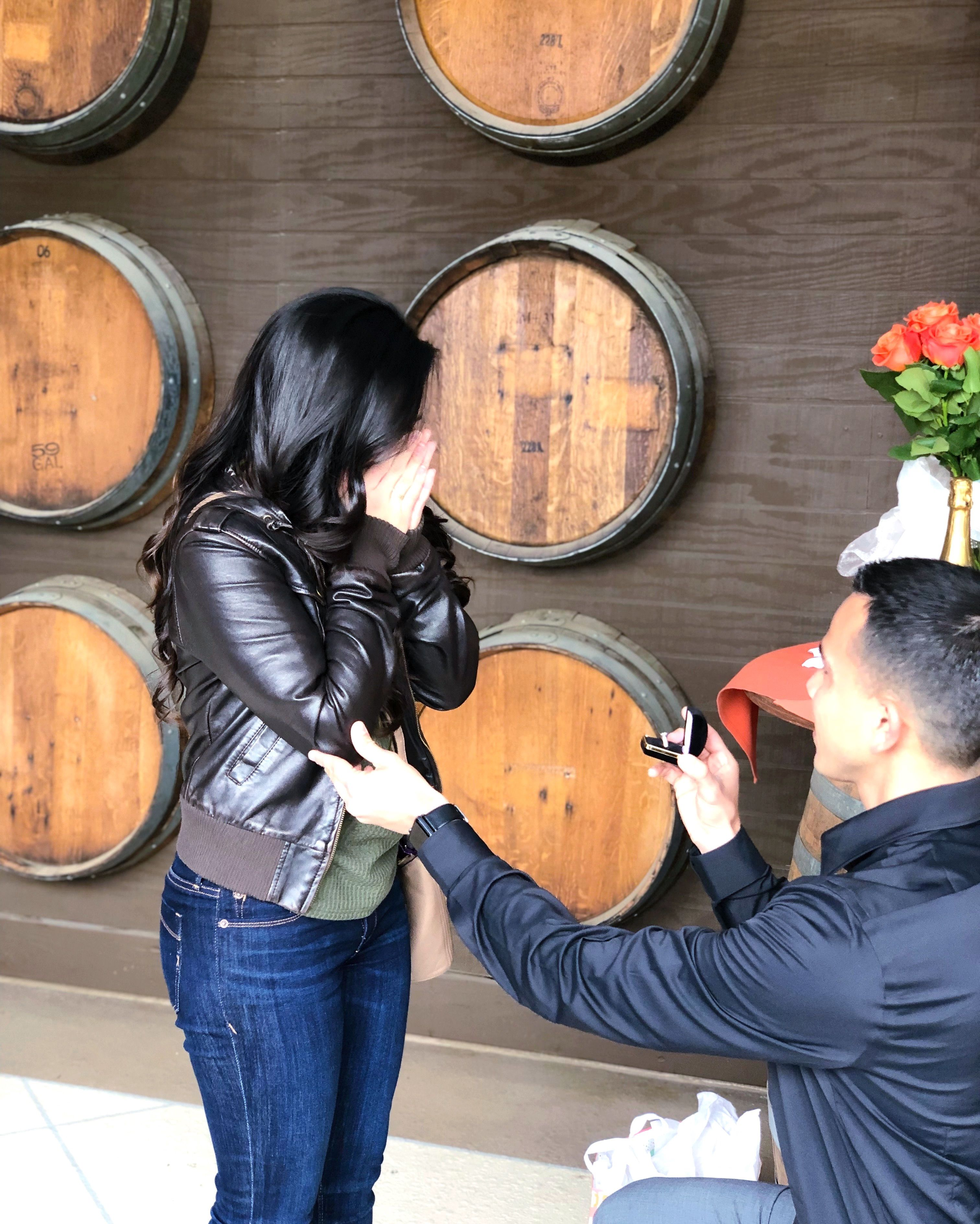 She Said Yes!nCongratulations William And Natalie!nCall