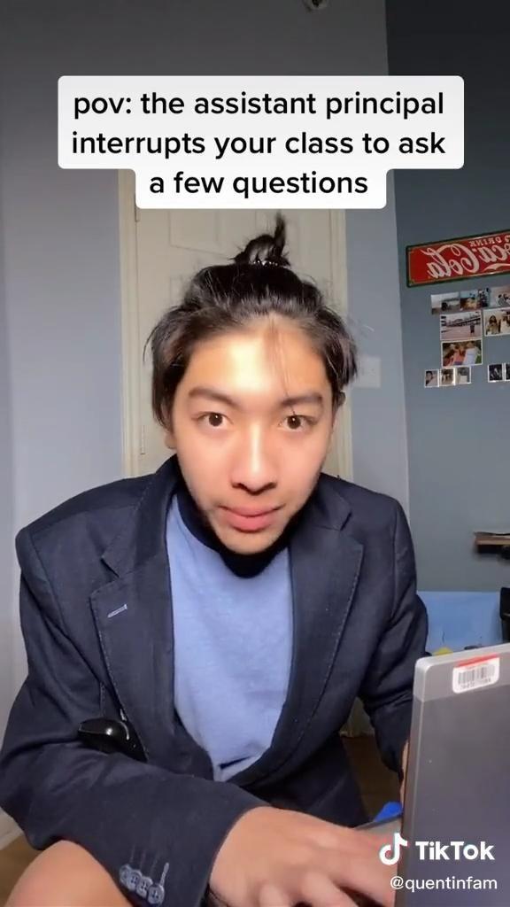 Tik Tok Pov Video In 2021 Super Funny Videos Crazy Funny Videos School Humor