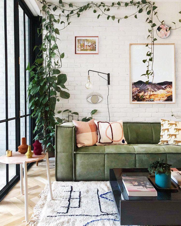 house of style podcast — hunter  folk  living room green
