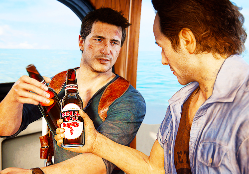 The Brothers Drake . . .Uncharted 4. .