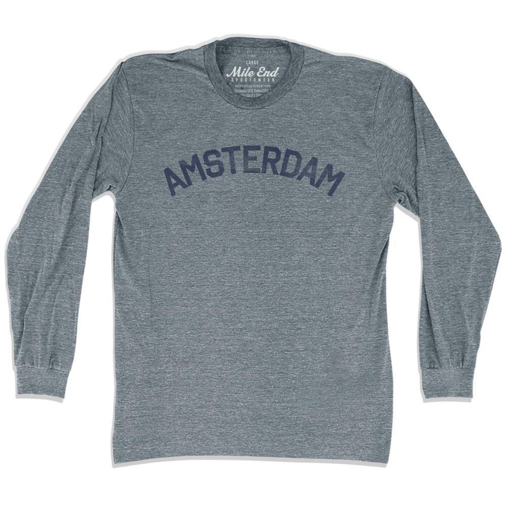 Amsterdam City Long Sleeve Vintage T-shirt
