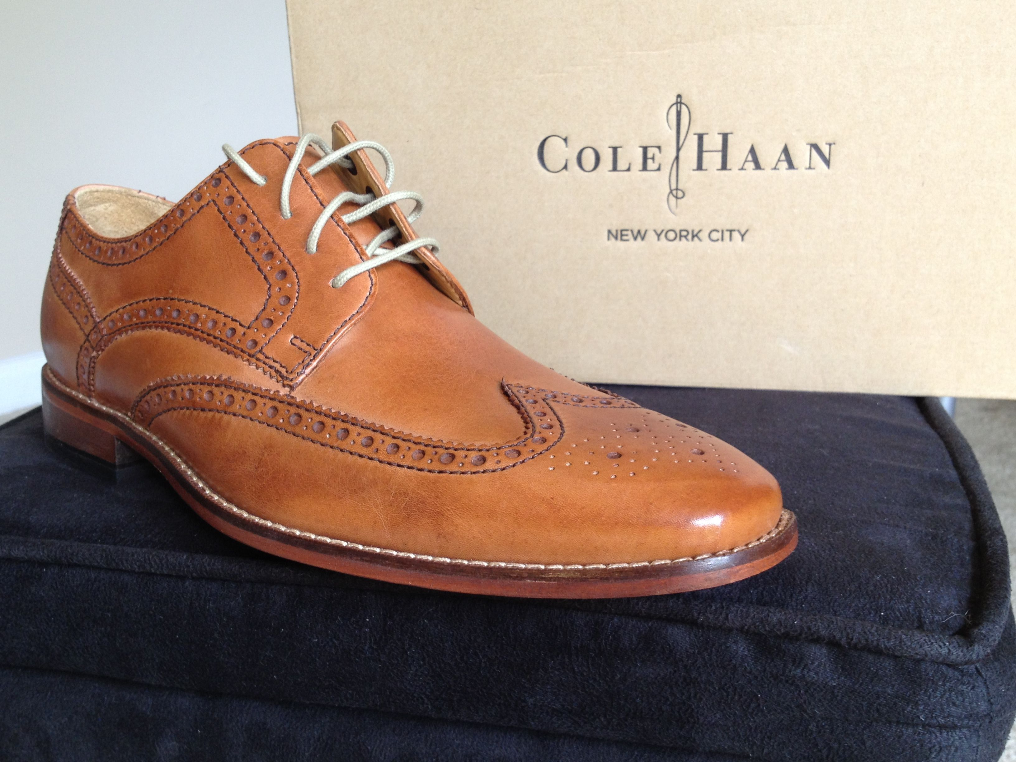 The Cole Haan Air Giraldo Wingtip