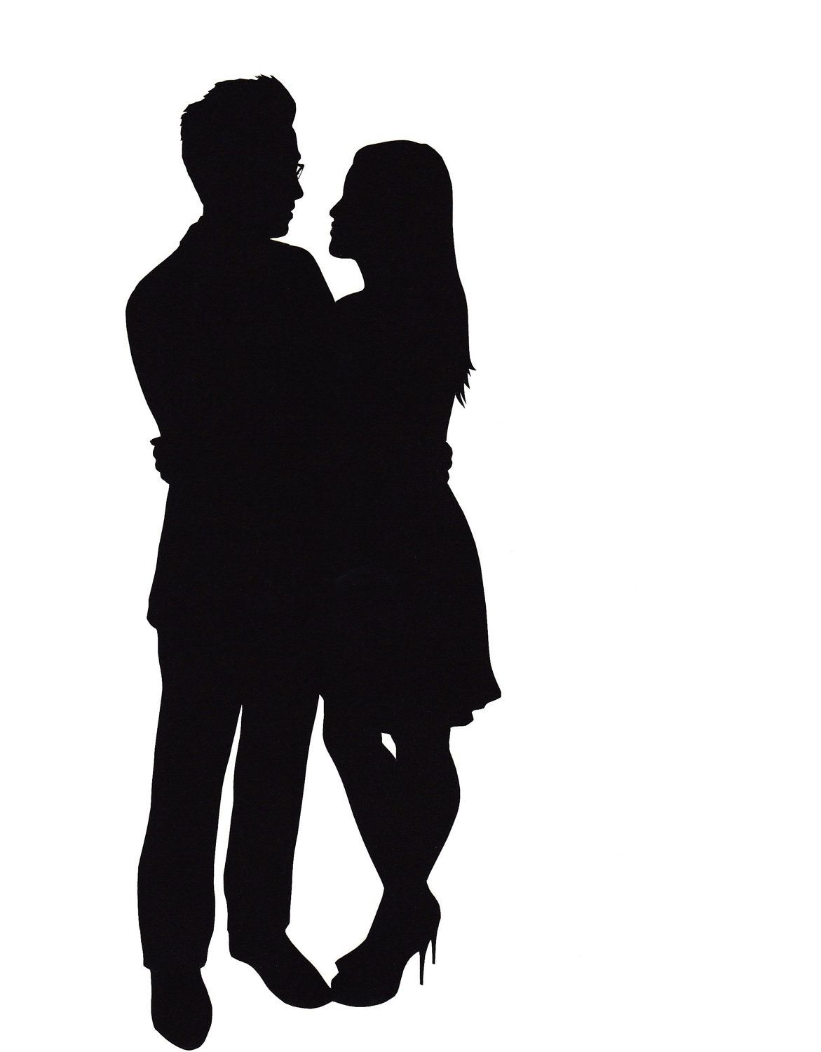 silhouette of a couple hugging - Google Search | Diy | Pinterest ... for Couple Silhouette Umbrella Kissing  110zmd