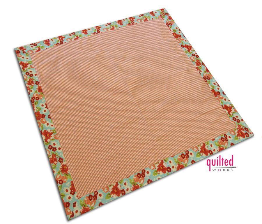Diy Baby Blanket, Self Binding