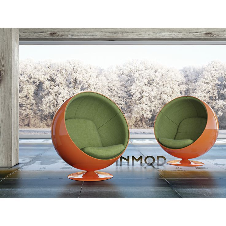 As if the Eero Aarnio Style Ball Chair Wasn't Eye-Catching Enough, Go Bold with Over 40 Colors to Choose From!