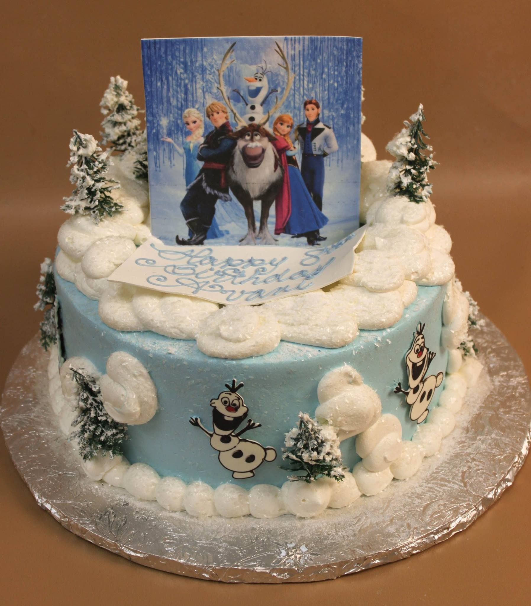 By Konditor Meister in MA a perfect Disney Frozen birthday cake