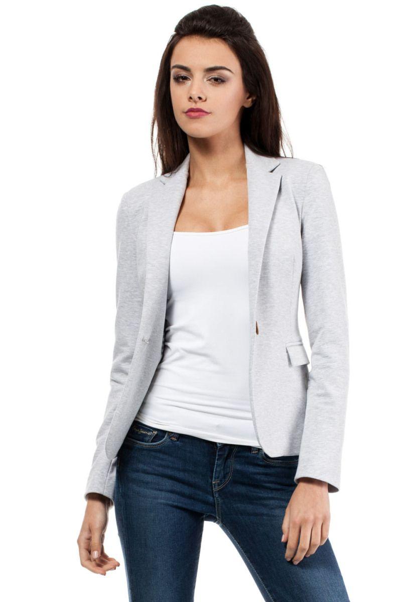 MOE Blazer, taillierter Schnitt grau Jetzt bestellen unter: https://mode.ladendirekt.de/damen/bekleidung/blazer/sonstige-blazer/?uid=28f95e35-6ce5-5d38-bb6b-9e0b0ff19aae&utm_source=pinterest&utm_medium=pin&utm_campaign=boards #sonstigeblazer #blazer #bekleidung #jacken Bild Quelle: brands4friends.de