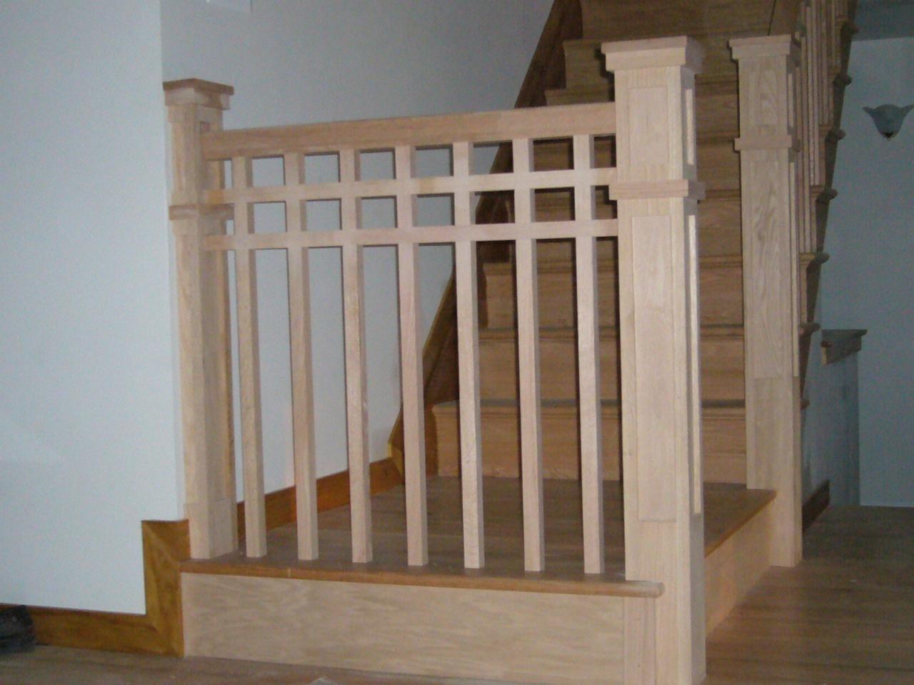 Craftsman Stair Railings | Stairs & Rails - Portfolio ...