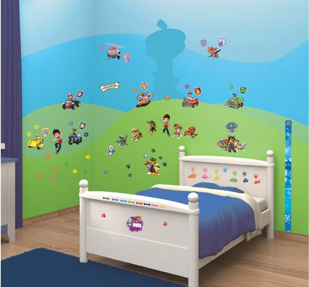Transform your room with this amazing paw patrol decor kit join ryder and the paw patrol team to help protect the adventure bay communitysee it here