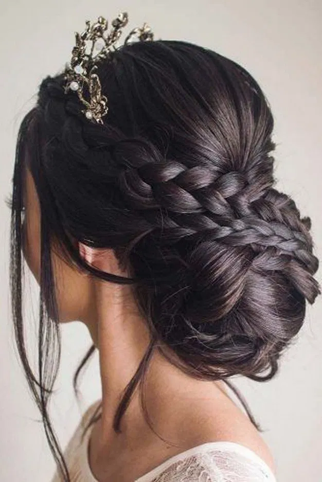 17 Amazing Braid Hairstyles Ideas 2 In 2020 Quince Hairstyles Hair Styles Thick Hair Styles
