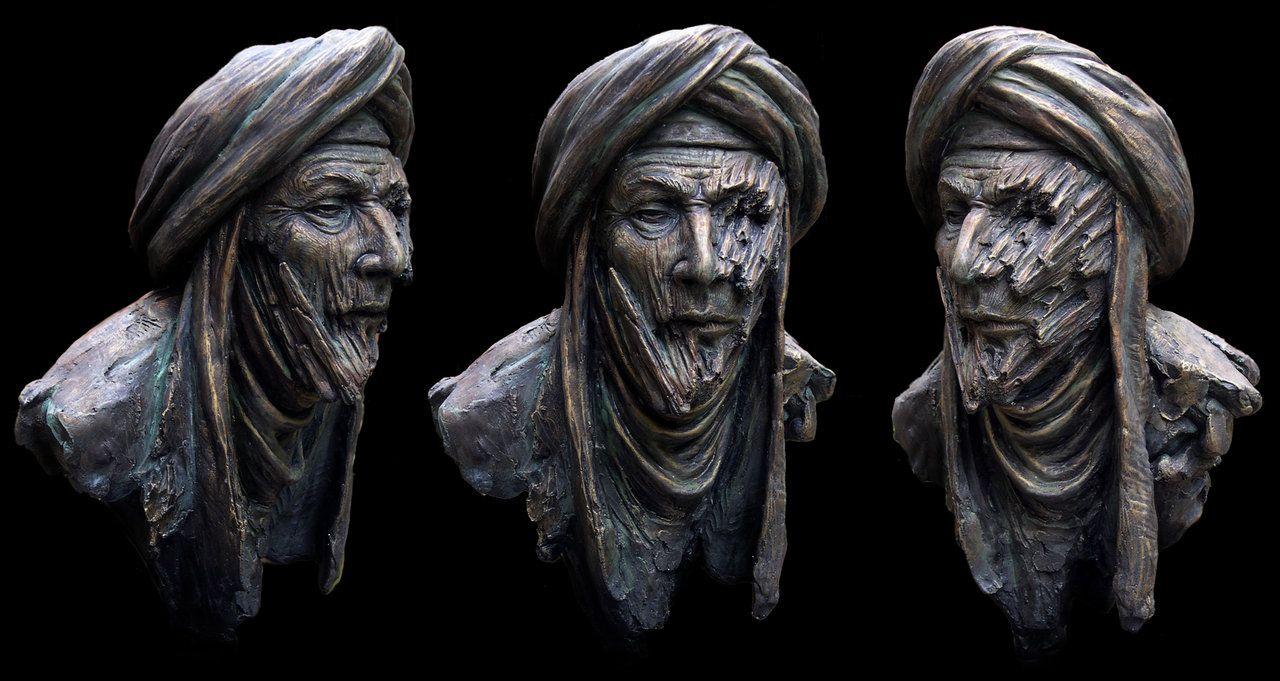 Dave Bonneywell: Make-up effects - Painting - Sculpture | Sculpture & Effects 1