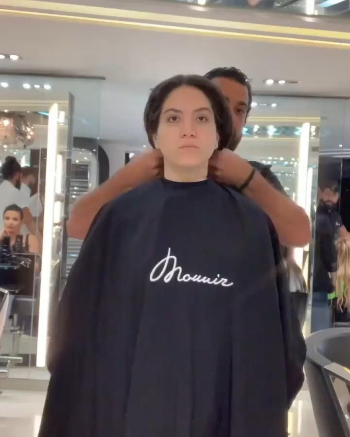 Mounir Salon New Hair Transformation Video