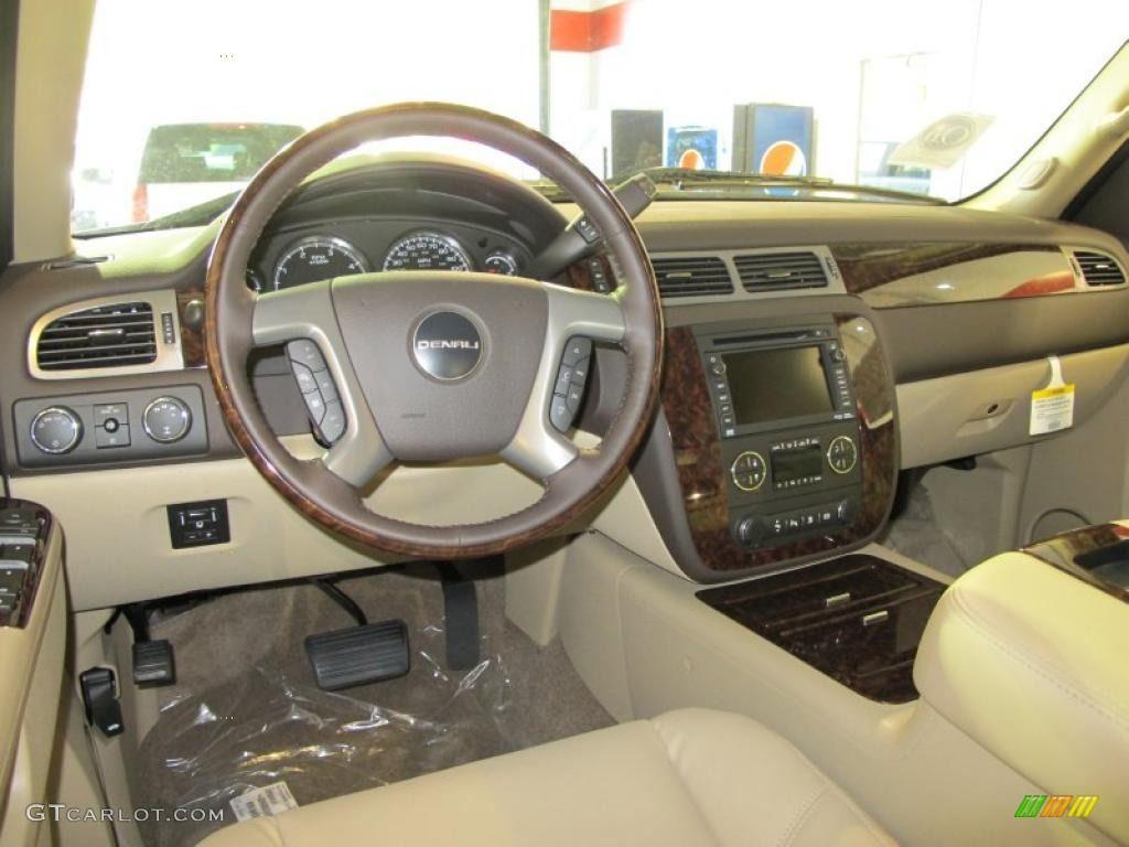 Gmc 2500 Hd Denali Cocoa Light Cashmere Interior 2011 Gmc Sierra