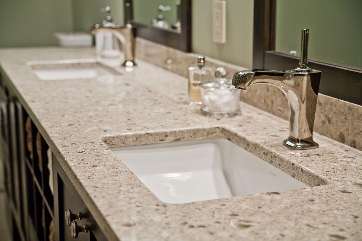 Granite Vs Quartz Countertops Natural Stone Kitchen And Bath Llc Granite Bathroom Granite Bathroom Countertops Cultured Marble Countertops