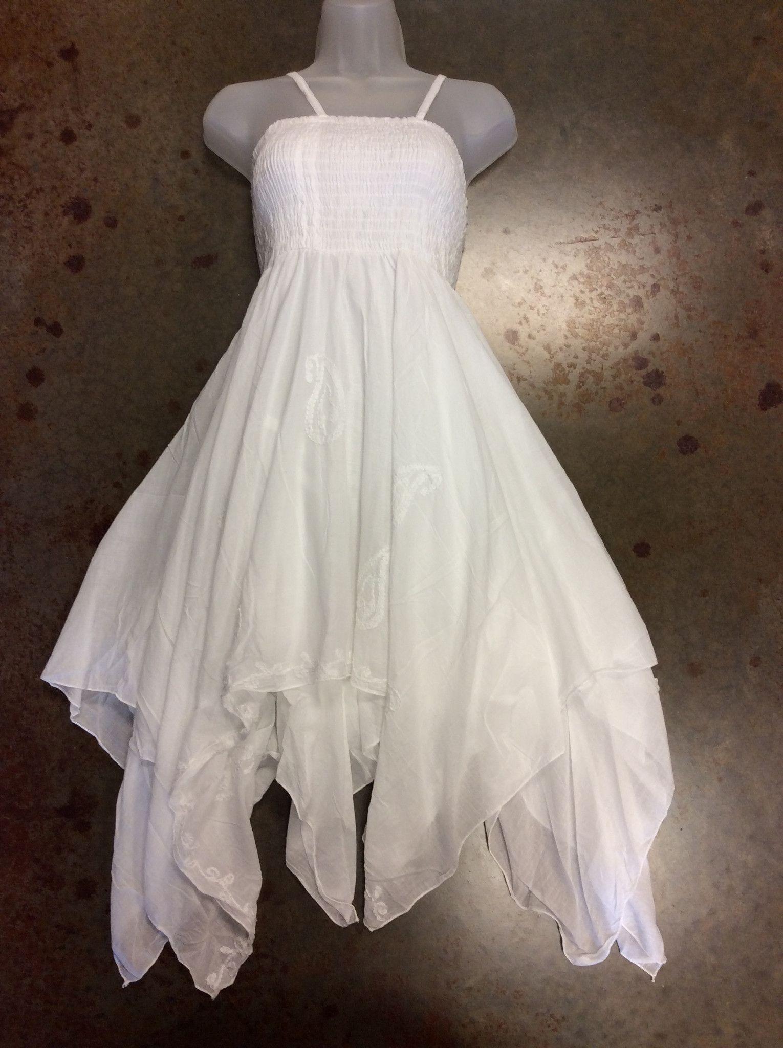 420eef79d2 Tie under bust 100% Cotton … | Dresses | White…