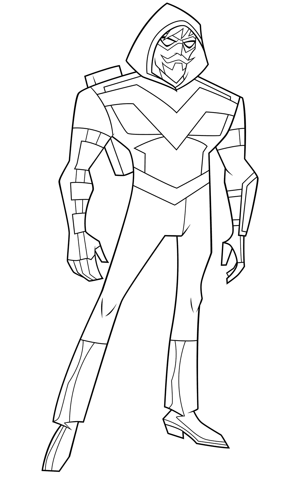 Green Arrow Coloring Pages Best Coloring Pages For Kids In 2020 Green Arrow Coloring Pages Coloring Pages For Kids