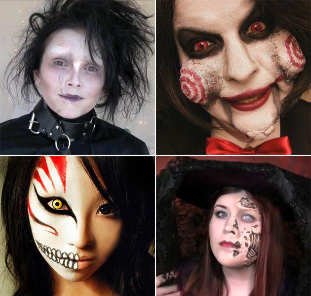 Maquillage halloween id es tutos femme homme juste sublime halloween pinterest - Maquillage homme halloween ...