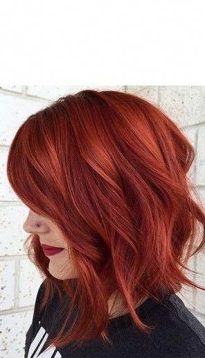33 Red Bob Haircut Style For Valentine S Day The Color Of Love Is Red Your Passion From Ginger To Gem Red Bob Haircut Long Bob Haircuts Bobs Haircuts