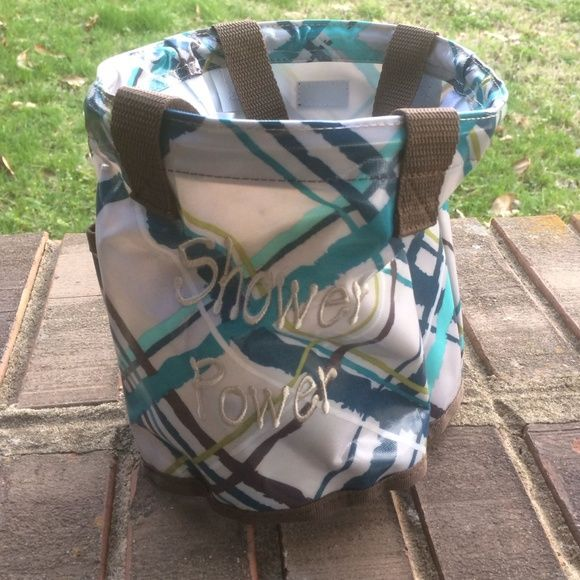 Thirty One Shower Caddy 31 Like New Used Once Shower Power Tote Thirty One  Bags