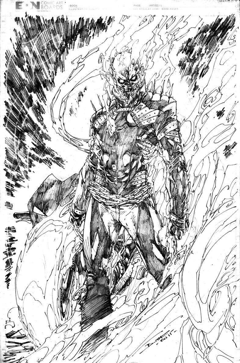 Ghost Rider | comics | Pinterest | Cómics, Dibujo y Carbón