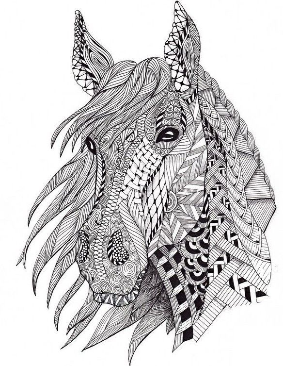 Free Coloring Pages Horses Coloring Pages Pinterest Coloring