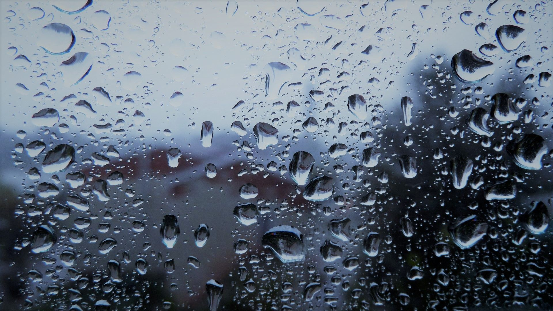 Raining Rain Window Rain Drops On Window Hd Backgrounds