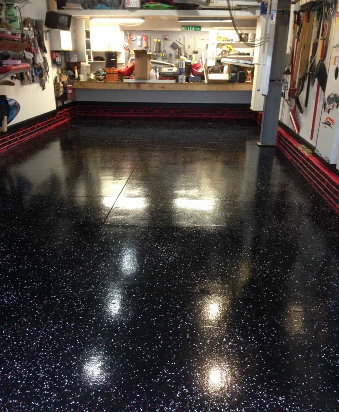 what is the cost to epoxy a garage floor