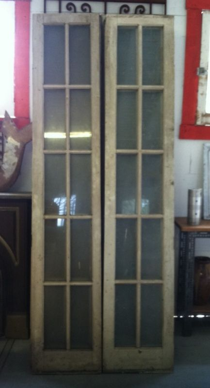 Slender French Doors | Tampa Bay Salvage | Architectural Salvage, Nautical, Reclaimed  Wood and - Slender French Doors Tampa Bay Salvage Architectural Salvage
