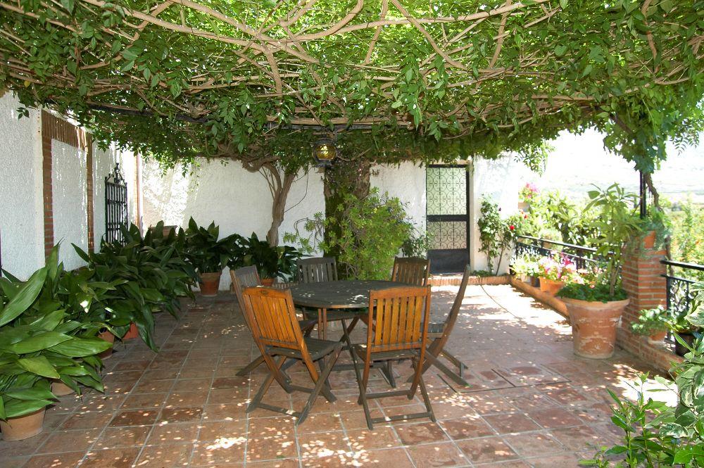 Una terraza para disfrutar del aire libre y la naturaleza