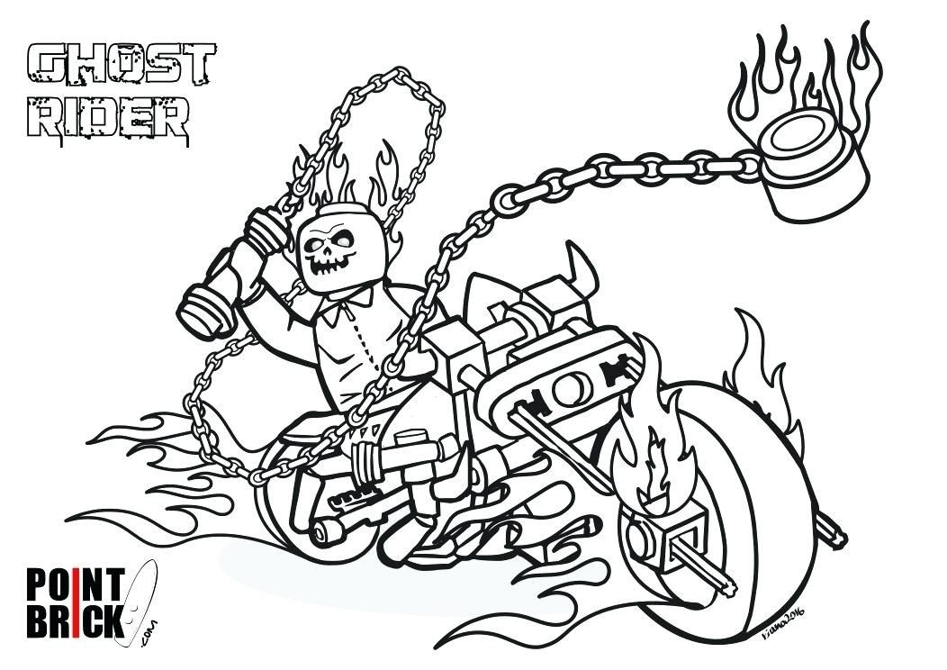Ghost Rider Coloring Pages At Getdrawings Free For In 2020 Lego Coloring Pages Ghost Rider Marvel Ghost Rider