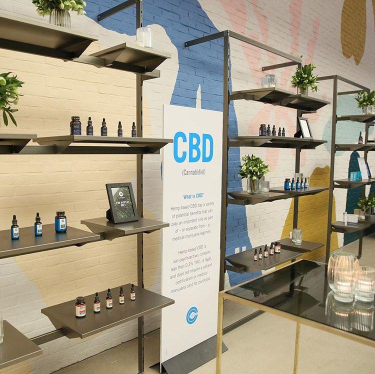 Brooklyn, NY CBD dispensary Store design interior
