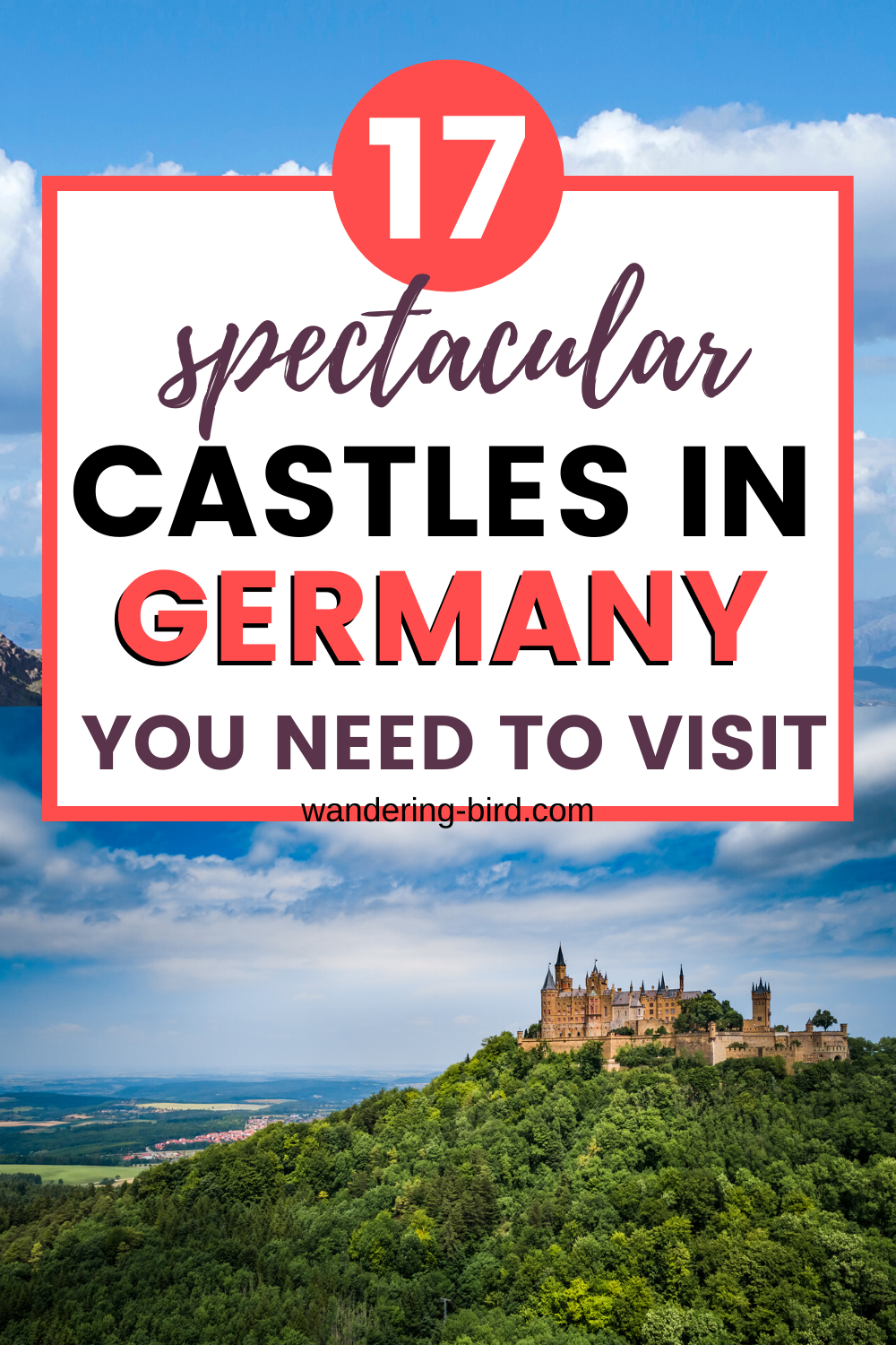 Germany Castles- 17 Spectacular castles in Germany to visit (map included!)