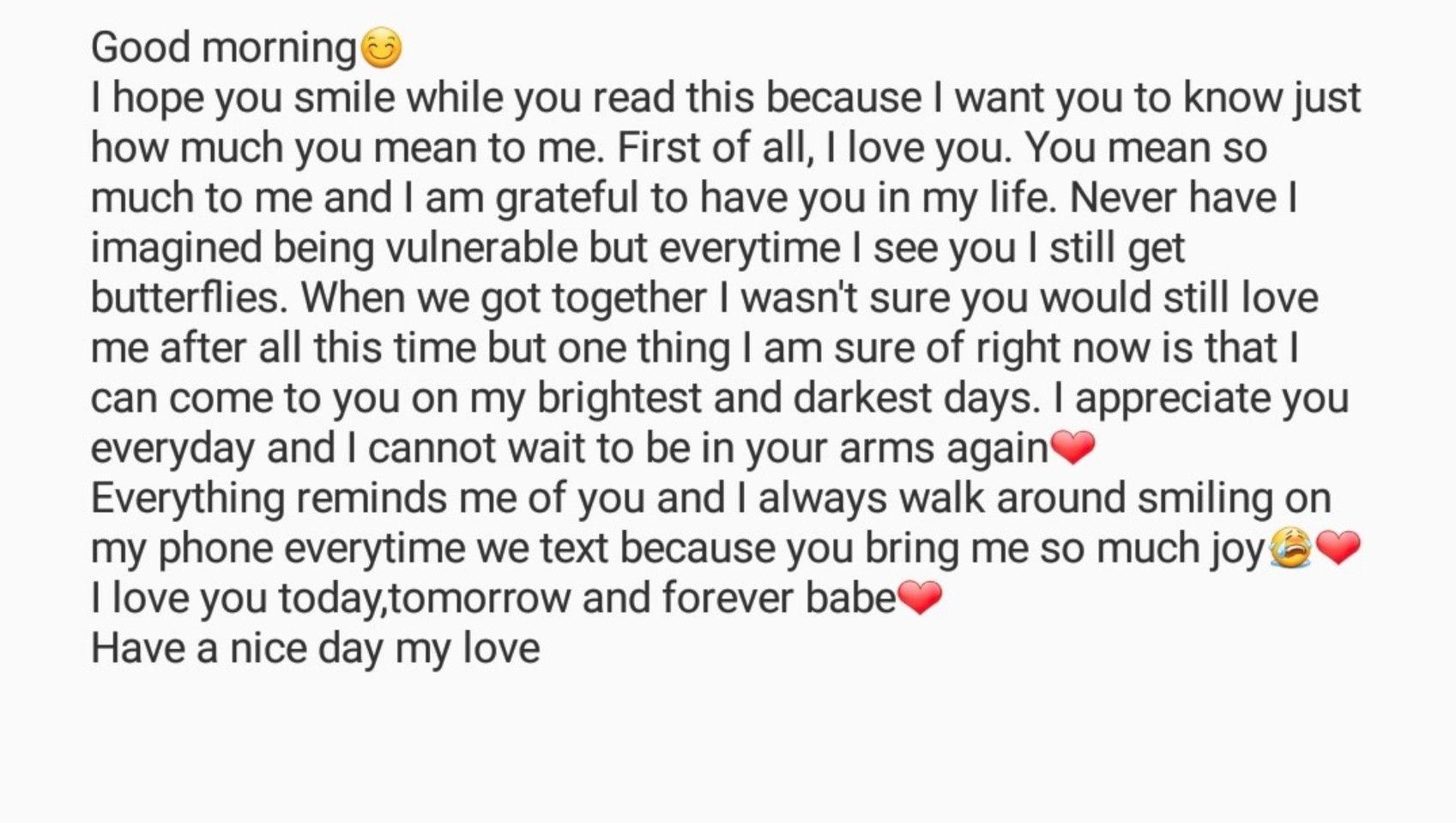 Cute Boyfriend Texts Relationship Goals Text Relationship Paragraphs