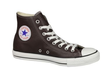 Converse All Star Cuir Marron | Cuir, Chaussures converse ...