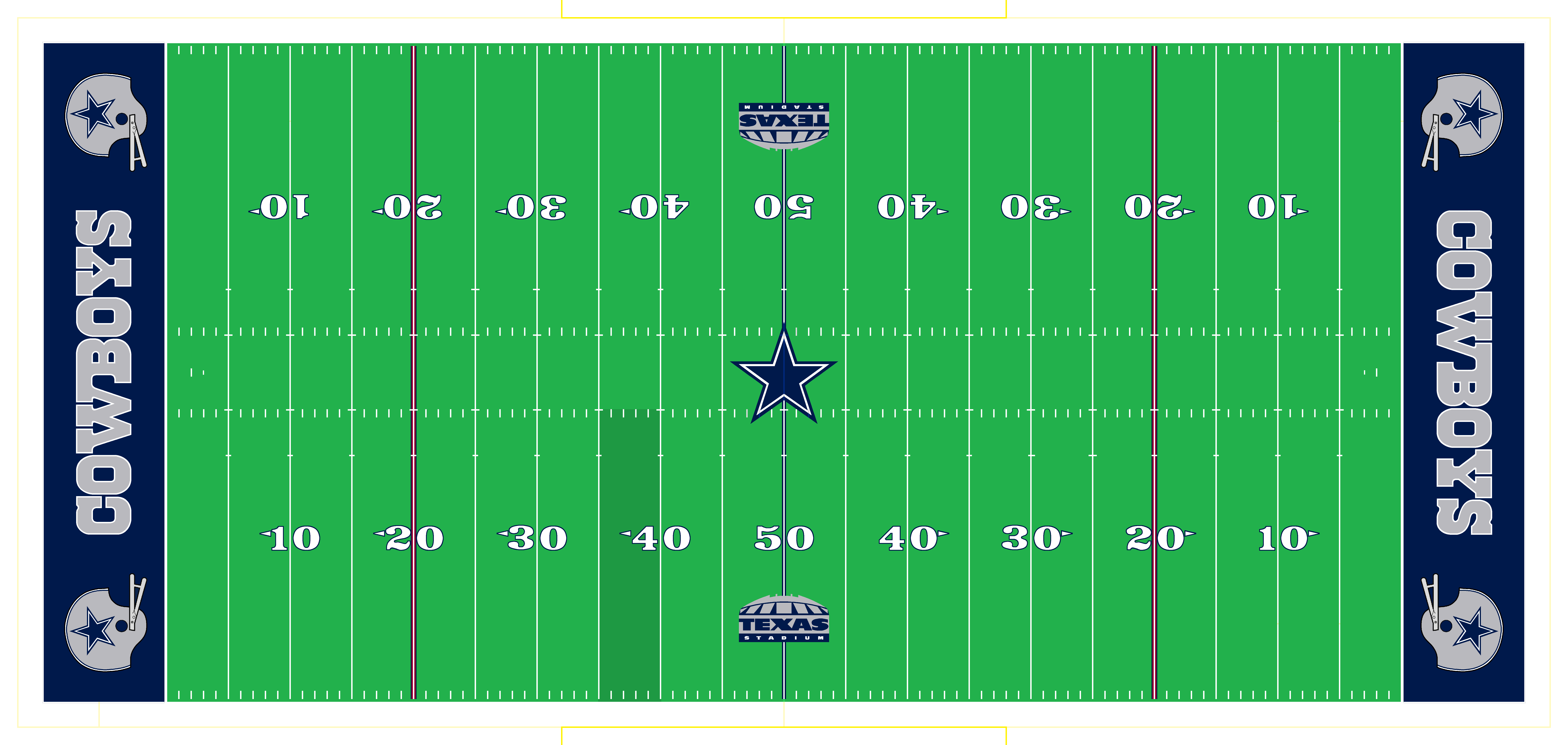 Current Nfl Fields Conference Championships Page 4 Concepts Football Field Nfl Dallas Cowboys