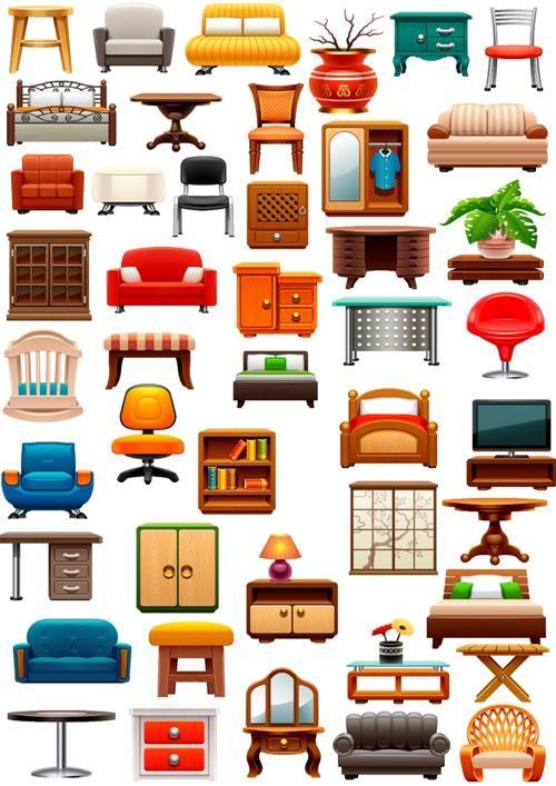 Клипарт Мебель 3