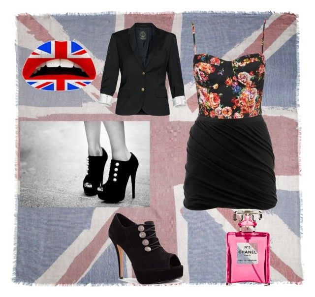 """""""Spring"""" by blackparade15 ❤ liked on Polyvore featuring French Connection, Alexander Wang, Ravel, INDIE HAIR, Talula, Chanel and Violent Lips"""
