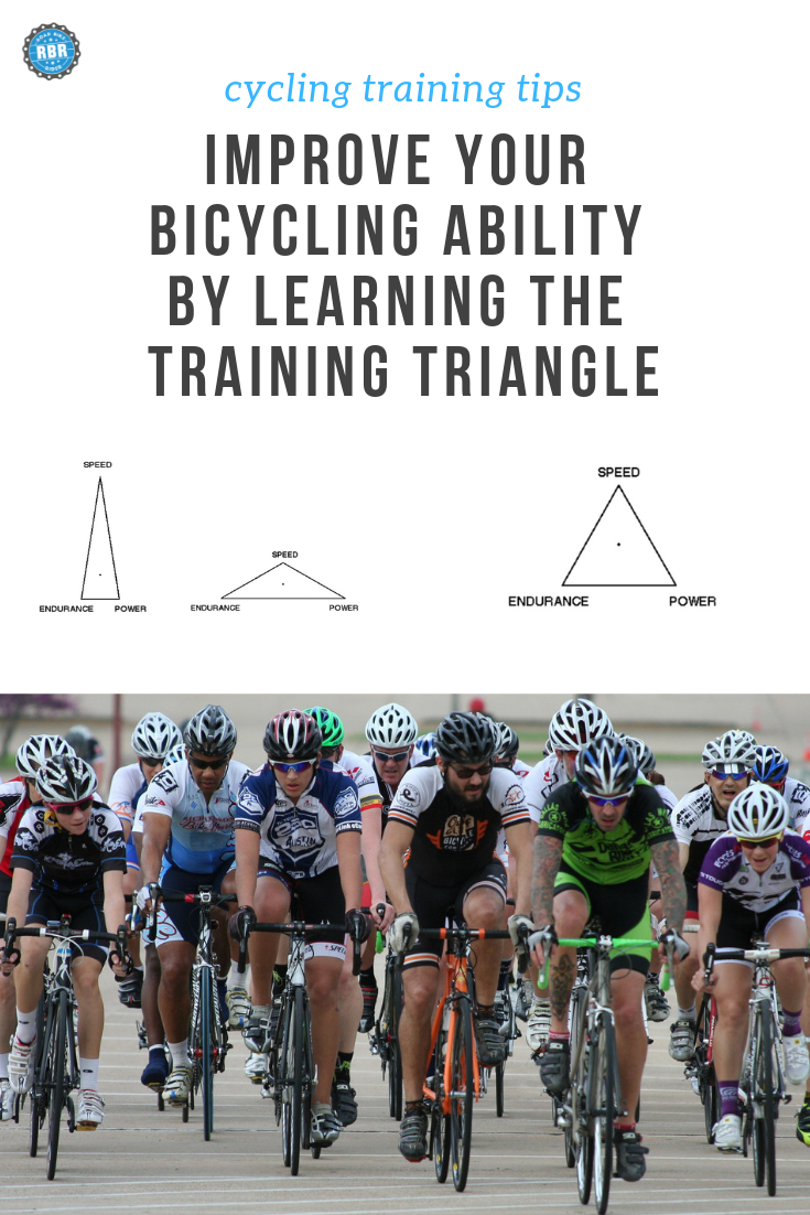 Become A Better Cyclist By Learning About The Training Triangle
