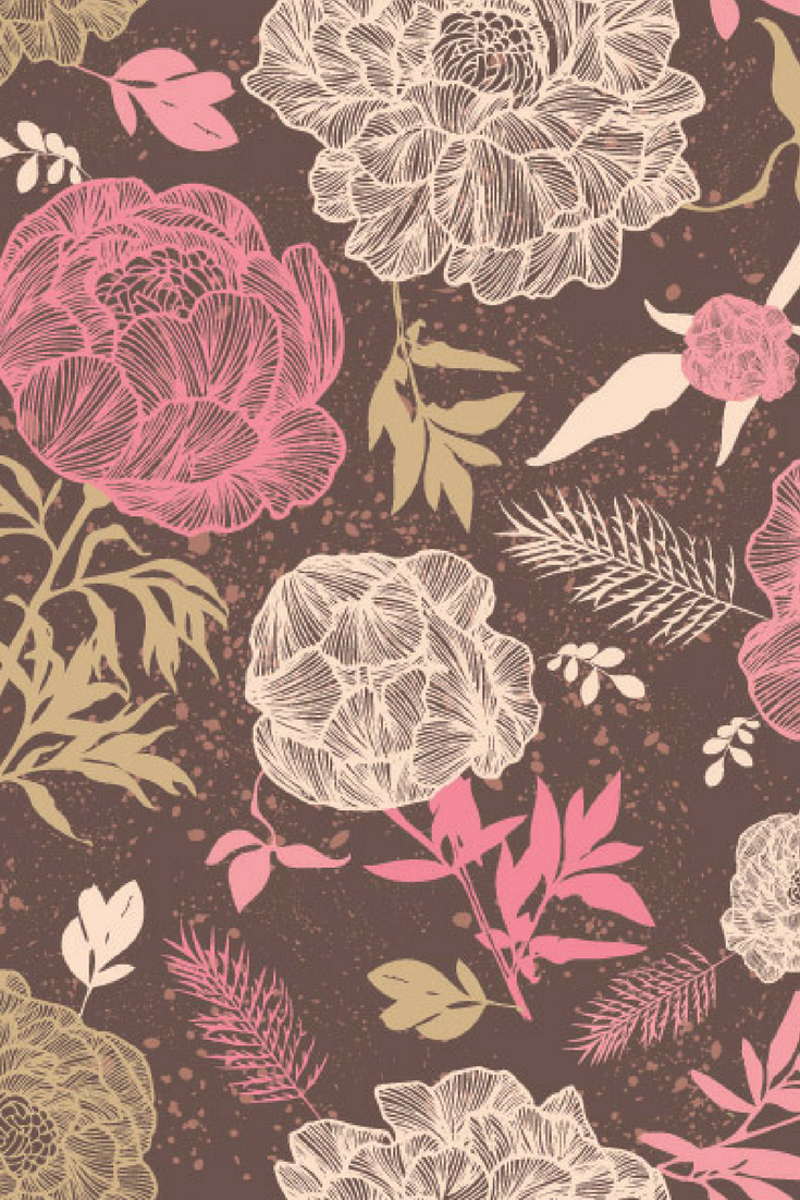 Download This Beautiful Flower Patterns At 4vector Com For Free 4vector Art Wallpaper Beautiful Flowers Wallpapers Flower Wallpaper