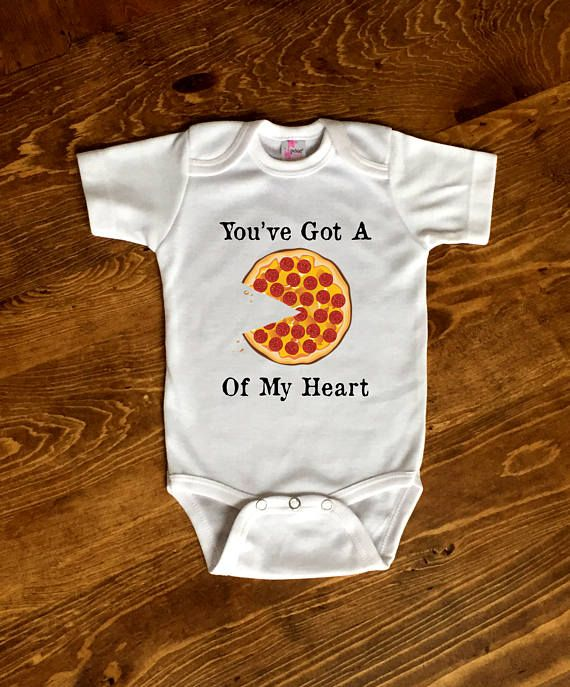 2b7c107ecaa Pizza Onesie©, Pizza Baby Shirt, Pizza Baby Shower, You've Got A ...
