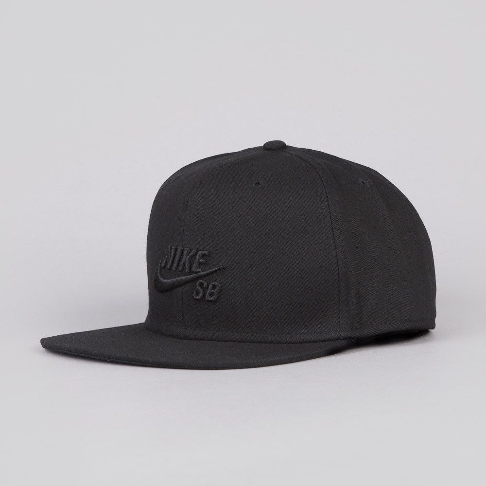 most popular for whole family 2018 sneakers Nike SB Icon Snapback Cap Black / Black | Nike in 2019 ...
