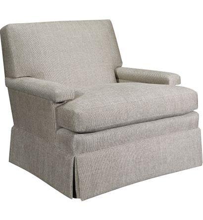 Sensational Macdonald Skirted Swivel Chair From The Alexa Hampton Theyellowbook Wood Chair Design Ideas Theyellowbookinfo